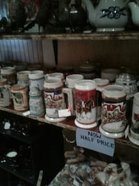 assorted-color-and-print ceramic beer stein lot Kearneysville, 25430