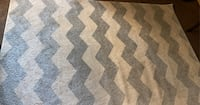 Gray and white rag very good condition made in turkey