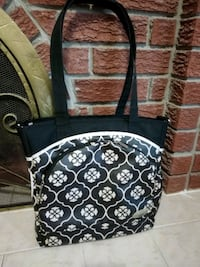 black and white floral backpack Mississauga, L4T 3L6