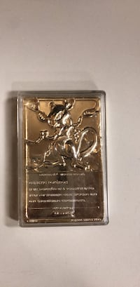 Rare Pokémon gold plated card Springfield, 22150