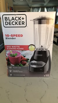 Brand new never open black + decker 10 speed blender Washington, 20002