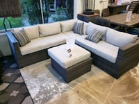 Brand New Outdoor Patio Furniture sectional