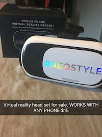 Virtual reality headset new (works with any phone) Brighton, 80601