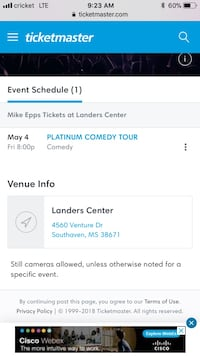 Mike Epps tickets Memphis, 38114