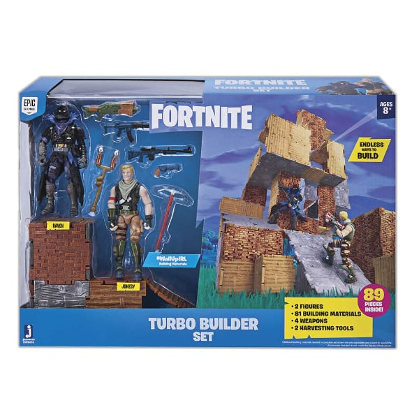 Fortnite Turbo Builder Set 2 Figure Pack