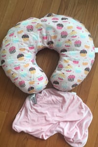 BOPPY nursing pillow with extra cover
