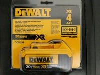20 V DeWalt lithium Ion recharagable battery Toronto, M2N