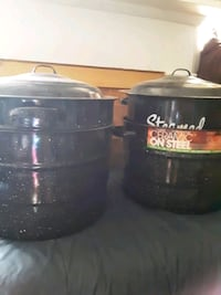 two Steamers and canners