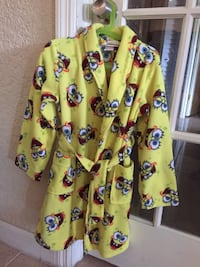 Sponge Bob kids robe size 6/7 Cooper City, 33024