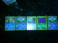five Pokemon trading cards Belton, 64012