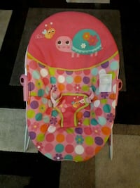 baby's multicolored bouncer Edmonton, T5A 3J8