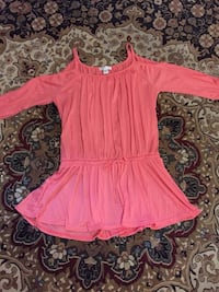 women's pink scoop-neck dress Whitby, L1P