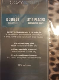 Sheet set double  Toronto, M4C 2L8