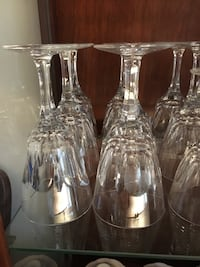 Crystal stemware wine glasses Toronto, M1P