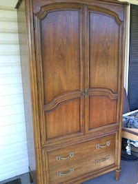 brown wooden 2-door cabinet Frederick