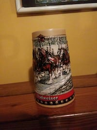 Budweiser holiday beer stein Freehold, 07728