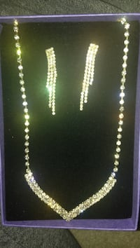 fashion jewelry NECKLACE AND MATCHING EARINGS