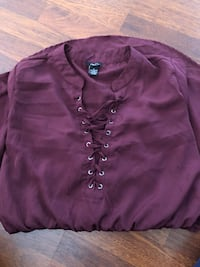 purple button-up long-sleeved shirt Cookeville, 38501
