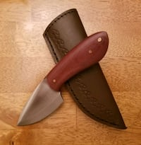 Stainless steel drop point knife  Frederick