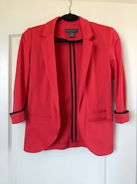 red notch lapel suit jacket 3478 km