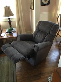 2016 Power Recliner XR Rocker from La-Z-Boy in Franklin, TN. Excellent condition. Original price $1000.00. Plug into wall, 4 easy buttons to use. Granite/Cocoa fabric. Soft and very comfortable. Lightweight and easy to move around. Nashville, 37215