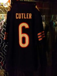 black white and red cutler 6 jersey shirt LG. Los Angeles, 90041