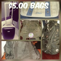 $5 each bag, backpack or suitcase  Missouri City, 77489