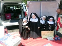 Four Nun Dolls vintage Collingswood, 08108