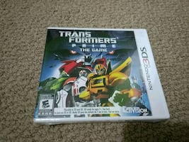 3ds transformers prime brand new sealed
