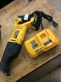 Dewalt sawzall 20 v DCS381 used  Baltimore, 21205