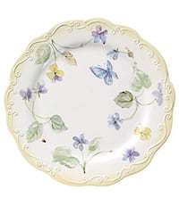 white and pink floral ceramic plate Niskayuna, 12309
