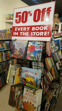 New books take an additional 50% off all books Oak Park, 60304