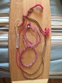 Chan Lou set with bracelets and necklace  Vaughan, L4H 1Y7