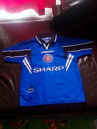 Youth Manchester United 1996-1997 Soccer Jersey  Toronto, M6H