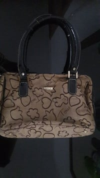 tote bag marrone e nera