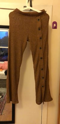 brown button-up coat 史特灵, FK8 1UF