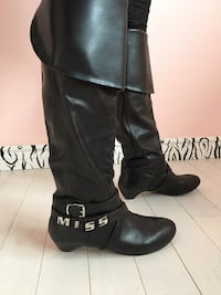 Miss Sixty leather boots