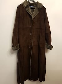 Suede Winter Coat Size 16 Brampton, L6R 1E3