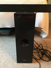 Sony Sound Bar and Sub Germantown, 20874