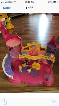 baby's pink and purple activity saucer Maysville, 30558