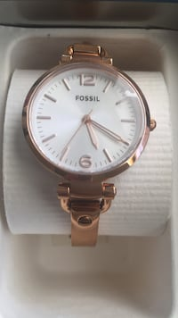 Fossil ES3110 Georgia Rose Gold Stainless Steel Women Watch Moreno Valley, 92557