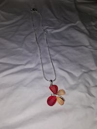 brown and red butterfly pendant necklace Brant, N3L 1P8