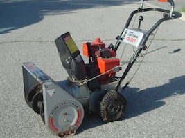 "((((( DEAL OF THE DAY TODAY $325.00 FIRM ))))) MUST SELL TODAY 21"" SEAR CRAFTSMAN SNOWBLOWER 4HP, 2 STAGE, BUY NOW AND SAVE $$$$!"