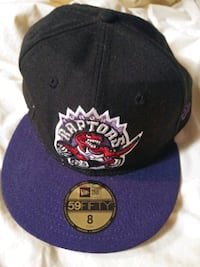 $10$ Purple & Black Raptors Hat (Size 8) Ajax, L1T 2W4