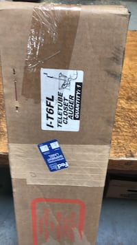 6 foot teletube toilet auger brand new in box  Mississauga, L5B 2B3