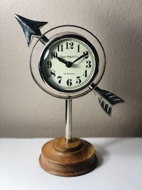 Standing Table Clock