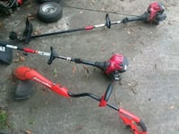 Electric weed eater works  2 gas weed eaters  dont