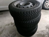 Four Goodyear Winter Tires with Rims Burnaby, V5C 2G2