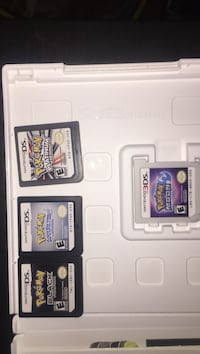 4 Pokémon games pick and choose or offer on whole lot