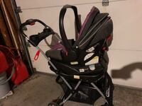 baby's black and pink stroller Columbus, 43017